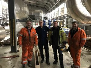 Image Happy guys with full 9 m core barrel from 4650 m Source Gudmundur Omar Fridleifsson